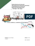 TRABAJO TECNICAS DE INVESTIGACION CUALITATIVAS Y CUANTITATIVAS