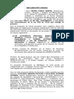 declaracion jurada de bienes Pedro Pablo