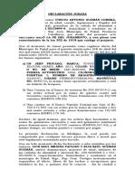 declaracion jurada de bienes Vinicio