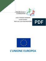 UNIONE EUROPEA aggiornato maggio
