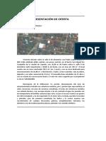 PRESENTACIÓN DE OFERTA
