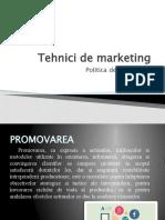 Tehnici de promovare