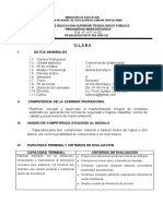 SILABO DE COMUNICACION empresarial