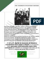 Comunicato GENUINO CLANDESTINO (Napoli 16/17 Aprile 2011)