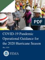 2020 Hurricane Pandemic Plan