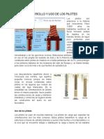DESARROLLO Y USO DE LOS PILOTES