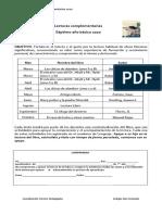 Plan de Lectura Complementaria 2020 Colegio SF Los Mares