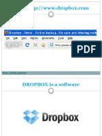Drop Box Tutorial