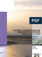 45107802 Guidelines for Rehabilitation and Management of Floodplains Ecology and Safety Combined
