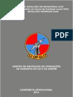 caderneta GLO EXERCITO BRASILEIRO