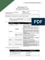 Semana 05. Guía práctica 06. Descripción del proyecto