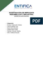 capitulo3 INVESTIGACIÓN DE MERCADOS