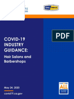 State Guidance for Hair Salons