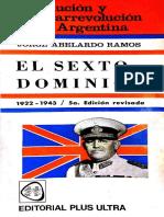 [1957] Ramos, J. a. - Revolución y Contrarrevolución en Arg.tomo IV. El Sexto Dominio (1973)