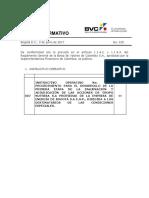 4. GRUPO NUTRESA - Boletín Normativo BVC No 015