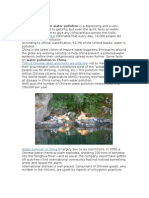 Article Water Pollution