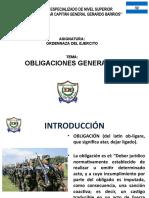 N° 2.- Obligaciones Generales de la Ordenanza del Ejercito