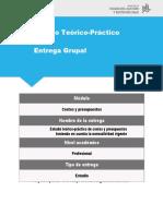 ENTREGABLE COSTOS Y PRESUPUSTOS ESCENARIOS 1