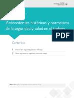 #2 Historia, Normas SST
