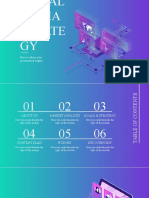 Isometric Gradient Social Media Strategy by Slidesgo