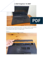 Disassemble Dell Inspiron 15 3567