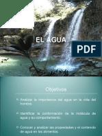 EL AGUA. ESTRUCTURA