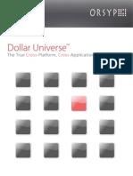 En Dollar Universe Brochure