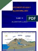 CLASE 12  ALCANTARILLADO