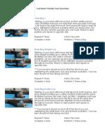 Low back friendly core exercises