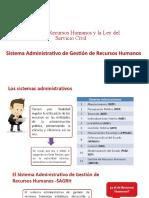 Gestión de Recursos Humanos en gestión pública