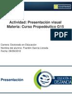 Franklin Garcia Lloreda 3.3 Presentación