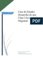 Desarrollo de una Clase Universitaria Magistral