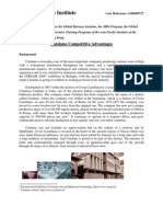 Case Study_Catalano Competitive Advantages