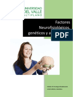 factores fisiologicos ambientales y geneticos