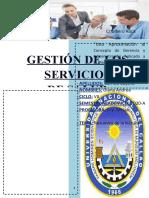 Gestión y servicio