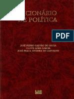 José Pedro Galvão de Sousa - Dicionário de Política.pdf