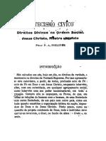 Catecismo Da Realeza de Nosso Senhor Jesus Cristo PE PHILIPPE CSSR