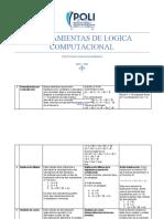 HERRAMIENTAS DE LÓGICA COMPUTACIONAL - MÉTODOS DEMOSTRACIÓN