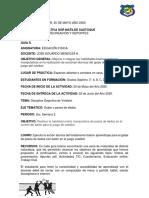 Grado 7° Guia 4 EDUFISICA Actividades 2 Periodo 25 de Mayo Año 2020.