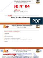 SESION N° 04 Manejo de sistemas de coordenadas.pptx