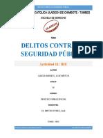 DELITOS CONTRA LA SEGURIDAD PUBLICA JOSE GARCIA BARRETO