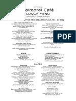 menu lunch balmoral 2019-20 legal
