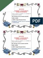 INVITACION CLAUSURA