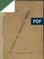 Livro de Cesario Verde