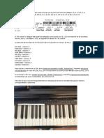Metrónomo - Instruções Yamaha  YDP 144