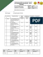 Formulir Pemetaan KD MGMP 2020
