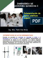 Interpretación de datos cinéticos experimentales