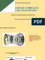 MECANISMO DE EMBRAGUE Y CAJA DE VELOCIDADES