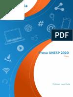 Prova-UNESP-2020-Física-Resolução