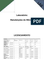 04 - Manutenções do Mikrotik